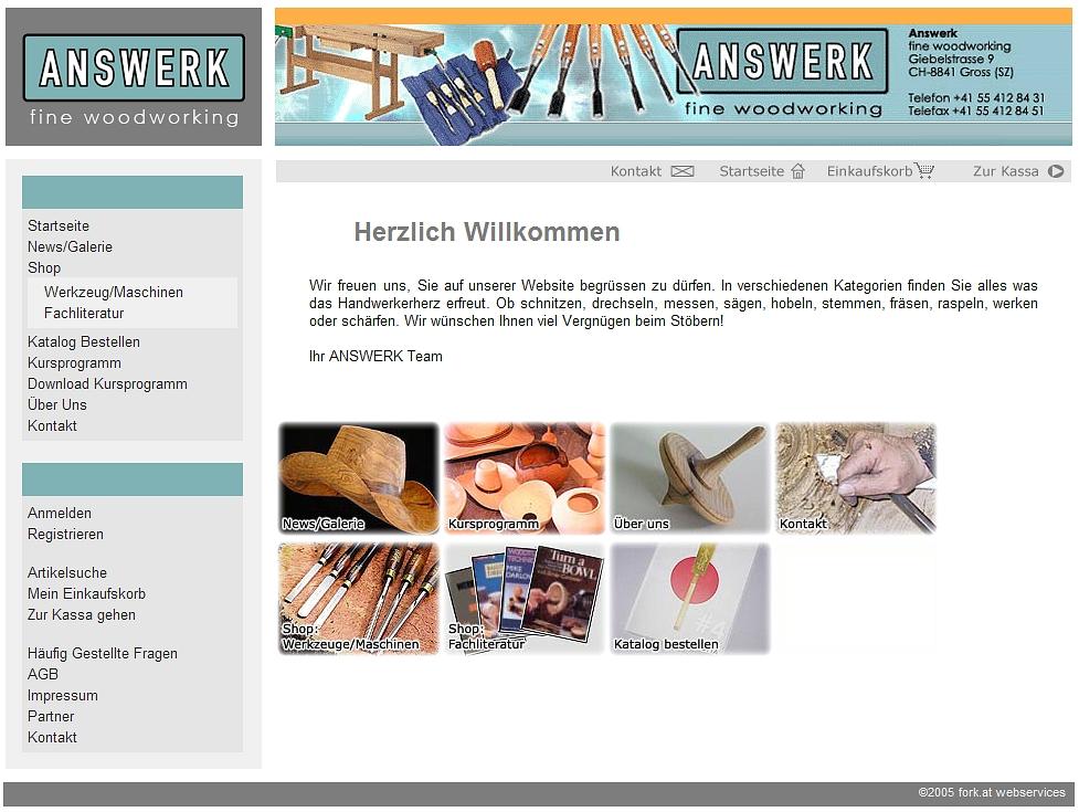 answerk.ch - Feine Werkzeuge auch in der Schweiz
