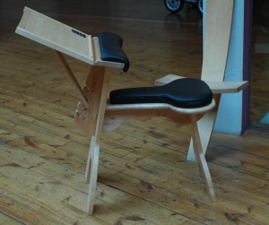 Charles Darwin's Study Chair