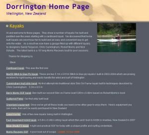 Steve Dorrington's Kajak Homepage