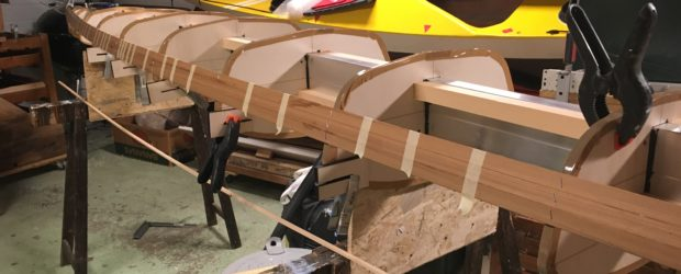 After attaching the sections to the strongback, I mangaged it to put the first three strips in place! Yeah! Wednesday, 2nd of January 2019 Sunday, 6th of January 2019 I […]